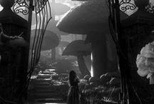 Alice in Wonderland / Tim Burton (ノ◕ヮ◕)ノ*:・゚✧
