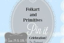 Summer Pin It Celebration / An Etsy Folkart and Primitive Board of Creative Art