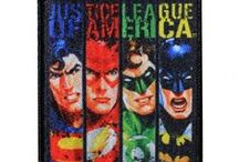 DC Comics / These patches can be sewn or ironed onto practically anything. Features your favorite DC Comics superheroes and villians. #Batman #Joker