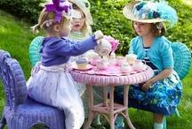 Tea cosies and Tea Cups