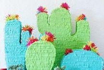 Inspiration :: Piñata Party / DIY Piñatas