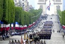Events in Paris / This board gather some powerful photos of particulars events in Paris like the Bastille Day :)