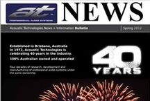 News from Acoustic Technologies / Although we spend most of our time developing and manufacturing amazing sound systems, we occasionally take the time to share our news with clients and friends. Here are some of our newsletters.