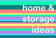 Lovely Homes & Storage Ideas / A board full of home inspiration and cool ideas. Storage savers are always welcomed ideas for the M&P team!