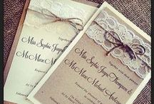 Be Our Guest - Wedding Invites / A collection of ideas for you Save The Dates and Wedding Invitations