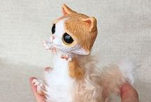 Art Dolls by Ermellin / my animal art dolls