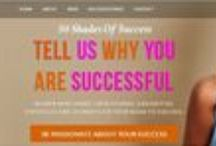 50ShadesOfSuccess / 50ShadesOfSuccess is an empowerment movement that inspires women to acknowledge and celebrate their success together. It's a platform for women of all ages, shapes, sizes and colors to come together in love,  unity, confidence, respect and sisterhood. TellUsYourSuccessStory@gmail.com