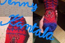 Itse tehtyä / Woolsocks, knitting, aunt