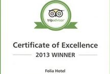 FOLIA Awards / We look forward for the 100th excellent reviews !!!