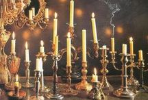 Candles / Cozy, mystical and spellbinding atmosphere of burning candles...
