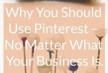 Pinterest / A selection of the best blogs, infographics, tips and tricks all about Pinterest!