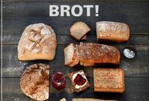 Brot und Brötchen / Frisches Brot und Brötchen wie vom Bäcker selber machen liegt im Trend. Hier findet ihr die besten Thermomix ® Rezepte für knuspriges Brot und knackige Brötchen.