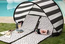 Lifestyle | Beach Accessories / Beach Products to make Beach Days more fun: Sun Umbrellas, Beach Chairs, Pool Floaties, Beach Towels and Sarongs, Summer Jewellery,  Beach Hats, Beachwear...
