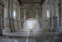 Art: Space  / Art and space, installation art / by Gabriela Bartlett