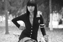 Fashion on wheels / bike fashion