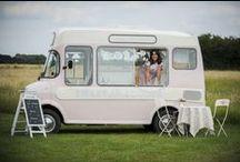 Sweet Ally Scoops Vintage Ice Cream Van / Lottie the prettiest Vintage ice cream van