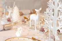 Christmas Decor and Table Setting
