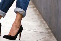 - Style inspiration - BLUE JEANS / Different kind of styles with