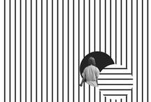 GRAPHIC / Bold B&W Shapes+Lines+Forms