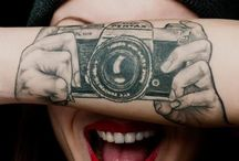 Write on me. / I like tattoos.