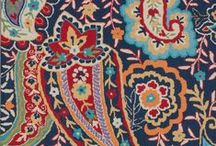 Paisleys / Paisley patterns and Paisley on things.