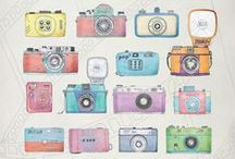 Cameras & Photography / Images of cameras and photography ephemera.