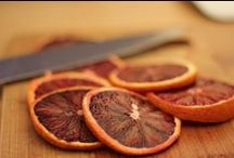 blood oranges / dedicated to all things arancia rossa.