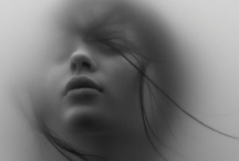 Photography: people / geometric composition, contrast, black and white, suggestive poses... / by Lydilena