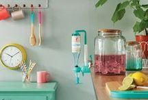 Neon is here! / Neon touches on everyday objects.