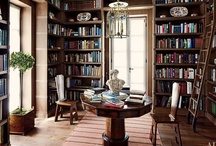 interior // home library