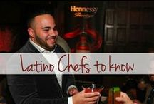 Chefs / Interviews & profiles with Latino chefs and chefs who cook Latin food.  / by The Latin Kitchen