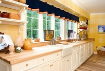 Kitchen Inspiration / Beautiful kitchen spaces that inspire. Some photographs from my own portfolio.