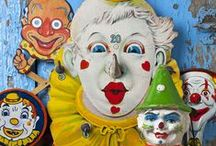 Clowns, Puppets and Toys!