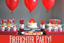 Firefighter Birthday Party