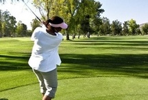 Golf / I don't play it much, but when I do, I love it!