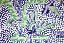 Indonesian BATIK - Javanese Pattern