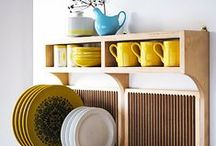 great shelving / places to put things beyond box bookcases / by Brigit Gail