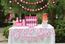 Sweet Strawberry Party / Ideas for a festive, summery Strawberry Themed Party!