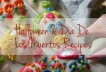 A Latino Halloween / Known as All Soul's Day to Americans, El Día de los Muertos is one of Latin America's most celebrated holidays. People honor those who have passed on by celebrating their lives instead of mourning them. Symbols traditionally associated with Day of the Dead are elaborately decorated skulls (some made of candy!), marigold flowers, candles and brightly colored decorations. We are preparing to celebrate  with fun activities, muy delicioso recipes, and themed cocktails! / by The Latin Kitchen