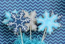 Disney Frozen Party Ideas and Inspiration / Disney Frozen Birthday Party ideas and inspiration, including dessert table, candy buffet, decor ideas!