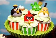 Angry Birds Birthday Party / Food, dessert table, candy, decor and games ideas for an Angry Birds Birthday Party