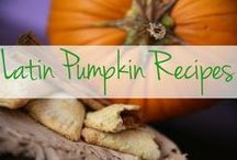Fall's Best Pumpkin Recipes / Pumpkin is all the rage, and we're on board. Check out our best pumpkin recipes that go much further than your daily pumpkin spiced latte. / by The Latin Kitchen