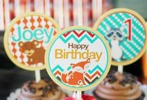 Woodland Animals Themed Party Ideas