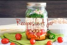 Recipes In a Jar / Keep it cute and quick - with these easy, on-the-go Latin recipes in a jar! Take  breakfast to work, a salad to the beach, or a cupcake for dessert, all in a jar. / by The Latin Kitchen