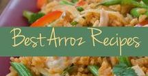 Rice Dishes / Arroz con que? Up ahead, these rice recipes take the main stage instead of normally playing second best to your meat on the plate.