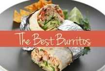 Burritos Recipes / Roll 'em up! Your average chicken and rice burrito doesn't stand a chance up against these top-notch, gourmet burrito recipes.