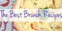 Brunch Recipes / Here's to sleeping in until noon and whipping up the most delicious brunch recipes ever!