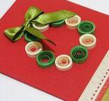 Cartões Natalino / Cartões natalino feitos artesanalmente
