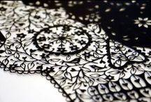 Papercutting & scherenschnitte / by Lydilena