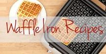 Waffle Iron Recipes / The waffle iron is your weekend best friend, but have no fear – there's more than just waffles on the horizon! Whip up these scrumptious recipes using your beloved waffle iron.